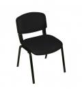 Üreten Burada Form Sandalye 2 Adet Set Siyah - Deri